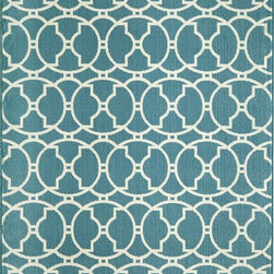 """Momeni - Contemporary Baja 7'10""""x10'10"""" Rectangle Blue Area Rug - The Baja area rug Collection offers an affordable assortment of Contemporary stylings. Baja features a blend of natural Orange color. Machine Made of 100% Polypropylene the Baja Collection is an intriguing compliment to any decor."""