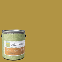 Inspired Flat Interior Paint, Beeswax .06, Gallon - Colorhouse paints are zero VOC, low-odor, Green Wise Gold certified and have superior coverage and durability. Our artist-crafted colors are designed to be easy backdrops for living. Colorhouse paints are 100% acrylic with no VOCs (volatile organic compounds), no toxic fumes/HAPs-free, no reproductive toxins, and no chemical solvents.