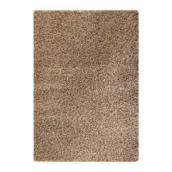 """MAT Orange Cosmo Silver Rug - 5'2""""x7'6"""" - The rugs in this collection are all inspired by urban lanandscapes, making way for a statement where texture, shape, and line are the form. The rug's texture and the marriage of colors speak to the contemporary room. """"It is the art piece on the floor.  Because of the artistic quality ofThe rugs they are easily used in modern as well as traditional interiors. Pile Height:2 Inches"""