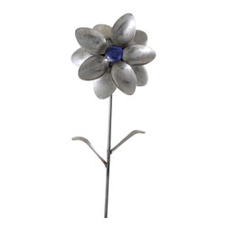 Forked Up Art - Aurora - Flower - A great display for the garden!