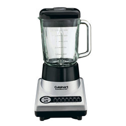 Cuisinart - Cuisinart PowerBlend 600-Watt Blender - 7-speed touchpad controls with LED indicators