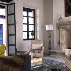 Antique Stone Fireplaces - Antique Stone Fireplaces by Ancient Surfaces.