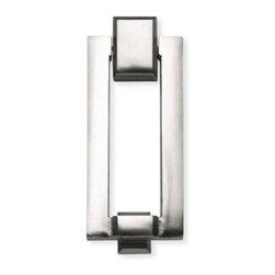 Atlas - Mission Door Knocker - DK644-BRN (Brushed Nic - Color: Brushed NickelManufacturer SKU: DK644-BRN. Made from metal. Projection: 0.38 in.. 5.38 in. L x 2.13 in. W