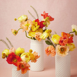 Milk Glass Hobnail Jar - This is the perfect vase for adding to my collection of real-life florals.