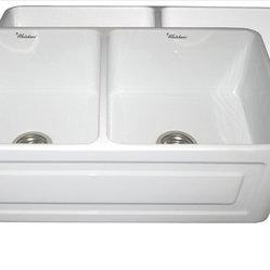 Whitehaus Whitehaus Whflrpl3318 Black Reversible Sink
