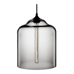 Bell Jar Modern Pendant Light - With a shape like a cloche, you'd expect something lovely housed inside, and this vintage-inspired bulb doesn't disappoint.