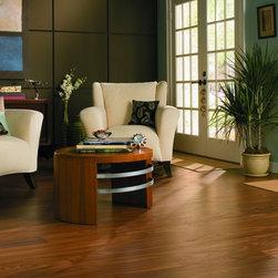 Teak laminate floor -