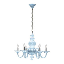 Crystorama - Crystorama 9846-CH-IB Harper Chandelier - This collection was created to appeal to homeowners with a modern eye for design. With a contemporary shape, Harper works well with sparse interiors as a centerpiece on a blank canvas.