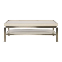 vanguard - Wakefield Rectangular Cocktail Table - Personalized Finish Options Available. See Price List for Details.