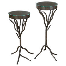 Traditional Plant Stands And Telephone Tables by Fratantoni Lifestyles