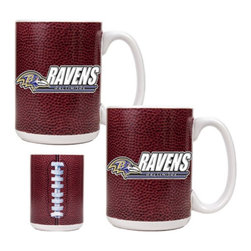 Great American Products - Great American NFL Gameball Coffee Mug Set Multicolor - GMDGMD2000-14 - Shop for Mugs from Hayneedle.com! About Great American ProductsWith beginnings as a belt buckle maker in Texas Great American products has become the leader in licensed metal emblems and the products that they adorn. With licenses with every major sports league Great American products a wide range of unique products like drinkware coolers and kitchen accessories for the dedicated fan.