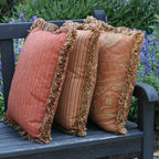 Cushion Source inspiration - Fringe adds stylish luxury to beautiful throw pillows