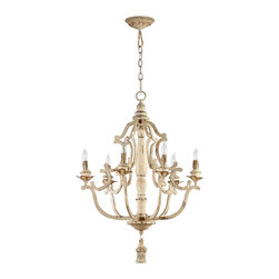 """Cyan Design - Cyan Design Maison Six Light Chandelier - Our lighting collection from Cyan Designs features a wide range of styles from modern to classic. Well-made and versatile, it's a great solution for your lighting needs. Cyan Design Maison 6lt Chandelier. 32""""(h) x 24""""(dia). UL approved. Assembly Required.  Bulbs not included. 60 Watts."""