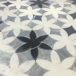 Water Jet Mosaic Tiles -
