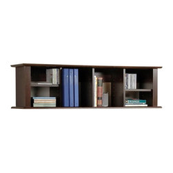 Prepac Furniture 48-Inch Wood Wall-Mounted Shelving - This would be nice for cookbooks, envelopes and other accessories in the kitchen. I'm thinking it belongs right above my desk.