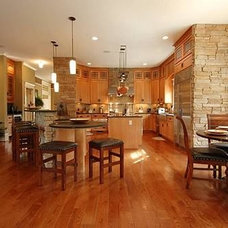 Contemporary Kitchen Cabinetry by Contractor Design Services