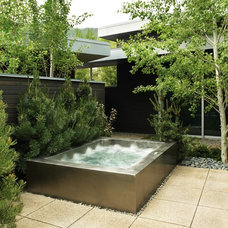 Contemporary Patio by Diamond Spas