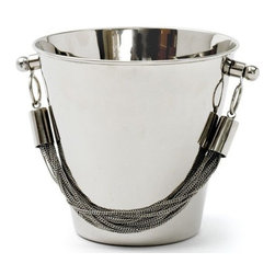 Go Home Ltd - Go Home Ltd Chained Ice Bucket X-79521 - Go Home Ltd Chained Ice Bucket X-79521