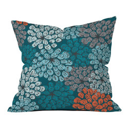 Khristian A Howell Greenwich Gardens 3 Outdoor Throw Pillow - Do you hear that noise? it's your outdoor area begging for a facelift and what better way to turn up the chic than with our outdoor throw pillow collection? Made from water and mildew proof woven polyester, our indoor/outdoor throw pillow is the perfect way to add some vibrance and character to your boring outdoor furniture while giving the rain a run for its money.