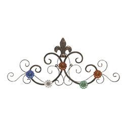 Classy Styled Metal Wall Hook - Description: