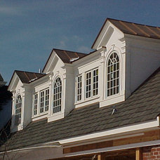 Traditional Exterior by Stoneleigh Builders LLC.