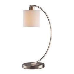 George Kovacs Park Arch Brushed Nickel Desk Lamp -