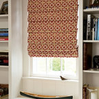 Smith and Noble Soft Roman Fabric Shades - Fabric Shades make for endless possibilities, like fabric Roman shades for an exotic look, or London fabric window shades for a touch of class. Starting at $131+