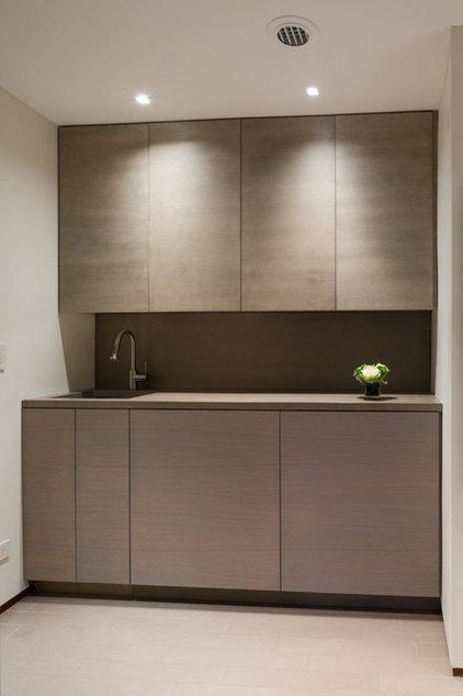 Contemporary Laundry Room by Lisa Dubin Architect