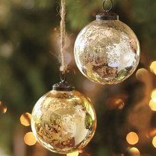 Traditional Christmas Ornaments by Pottery Barn