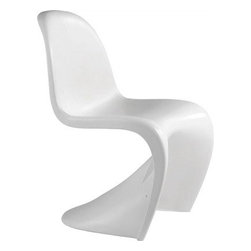 Zuo Modern - Zuo Modern Baby S Modern Kids Chair (Pack of 2) X-071501 - Light weight and durable, the Baby S children's chair adds curves to any setting. Based on Zuo's S chair, the Baby S compliments all spaces in need of a glossy shine.