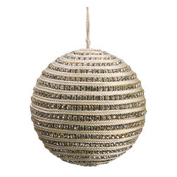 Silk Plants Direct - Silk Plants Direct Diamond Ball Ornament (Pack of 4) - Pack of 4. Silk Plants Direct specializes in manufacturing, design and supply of the most life-like, premium quality artificial plants, trees, flowers, arrangements, topiaries and containers for home, office and commercial use. Our Diamond Ball Ornament includes the following: