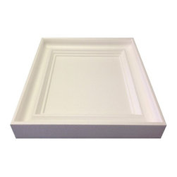 "IDS Group - 2x2 White Coffered Ceiling Tiles, White, New York - ASTM E84 Tested: Class ""A"" Fire Rating"