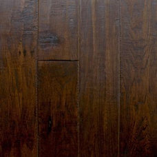 Contemporary Hardwood Flooring by Home Depot