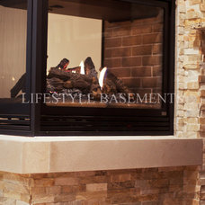 Contemporary Basement by Lifestyle Basements|Kitchens