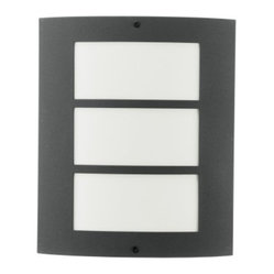 Eglo - City Outdoor Wall Light - Would you like trendy living reflected in your living space? City 1 Light Outdoor Wall Light in Stainless Steel Finish with Acrylic Glass might be right for you. Simple, classically elegant or just different  but in any case  theyre always contemporary and modern!