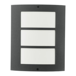Eglo - City Outdoor Wall Light - Would you like trendy living reflected in your living space? City 1 Light Outdoor Wall Light in Stainless Steel Finish with Acrylic Glass might be right for you. Simple, classically elegant or just different but in any case they're always contemporary and modern!