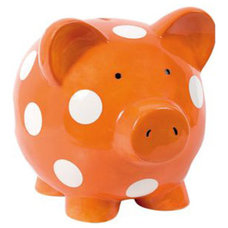 Eclectic Piggy Banks by dawnpricebaby.com