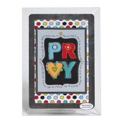 Westland - Pray Glass Religious Multicolored Musical Picture Frame Decoration - This gorgeous Pray Glass Religious Multicolored Musical Picture Frame Decoration has the finest details and highest quality you will find anywhere! Pray Glass Religious Multicolored Musical Picture Frame Decoration is truly remarkable.