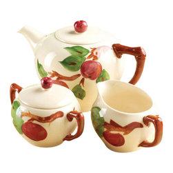 Franciscan - Franciscan Apple 5 Piece Tea Set - Franciscan Apple 5 Piece Tea Set