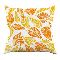 """Kess InHouse - Pom Graphic Design """"Autumn"""" Throw Pillow (16"""" x 16"""") - Rest among the art you love. Transform your hang out room into a hip gallery, that's also comfortable. With this pillow you can create an environment that reflects your unique style. It's amazing what a throw pillow can do to complete a room. (Kess InHouse is not responsible for pillow fighting that may occur as the result of creative stimulation)."""