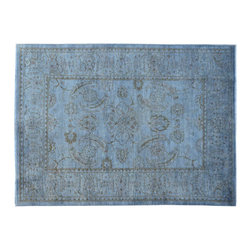 Hand Knotted Silver Wash Oushak 4'x6' 100% Wool Oriental Rug SH15068 - Hand Knotted Oushak & Peshawar Rugs are highly demanded by interior designers.  They are known for their soft & subtle appearance.  They are composed of 100% hand spun wool as well as natural & vegetable dyes. The whole color concept of these rugs is earth tones.