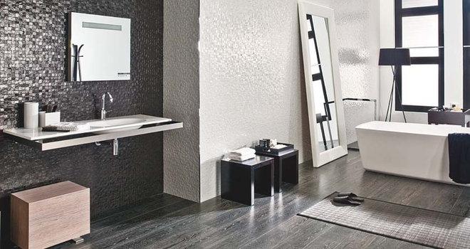 Modern Tile by CheaperFloors