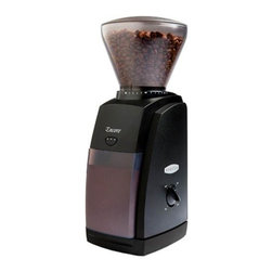 Baratza - Baratza Encore Conical Burr Black Coffee Grinder - Coffee lovers know the importance of freshly ground beans. It's a key ingredient to a perfect cup of joe. Keep this sleek grinder on your counter for daily use. You'll be sure to get the perfect grind every time.