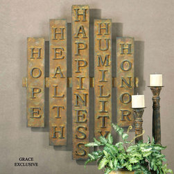 "13389 The Five H's by Uttermost - Get 10% discount on your first order. Coupon code: ""houzz"". Order today."