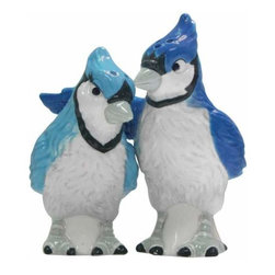 WL - 3.75 Inch Wildlife Blue Jays Figurines Salt and Pepper Shakers - This gorgeous 3.75 Inch Wildlife Blue Jays Figurines Salt and Pepper Shakers has the finest details and highest quality you will find anywhere! 3.75 Inch Wildlife Blue Jays Figurines Salt and Pepper Shakers is truly remarkable.