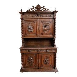 EuroLux Home - 1880 Buffet Renaissance Oak 16-56 - Product Details