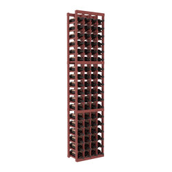 Wine Racks America - 4 Column Standard Wine Cellar Kit in Pine, Cherry + Satin Finish - Rock solid design from our unparalleled fabrication standards. We create superior racks from superior materials. We back that claim with a lifetime warranty and a cash back promise. Modular engineering enables hassle-free expansion and experimentation.