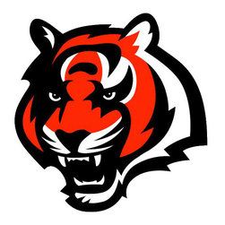 Brewster Home Fashions - NFL Cincinnati Bengals Teammate Logo Wall Sticker Decal - FEATURES:
