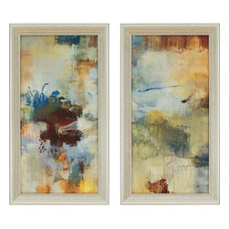 Paragon - Skyliner I PK/2 - Framed Art - Each product is custom made upon order so there might be small variations from the picture displayed. No two pieces are exactly alike.