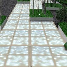 Modern Outdoor Decor by Sarabi Studio